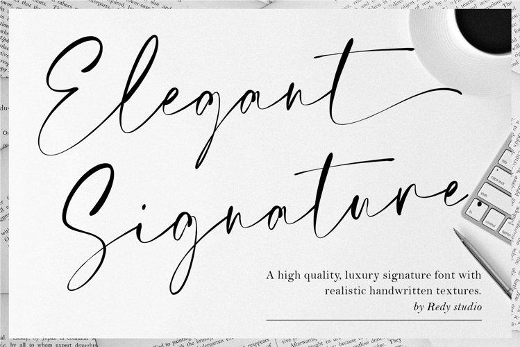 Elegant Signature example image 1