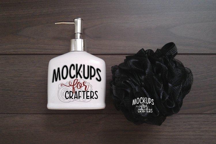 Soap pump bottle MOCK-UP - Dollar Tree product