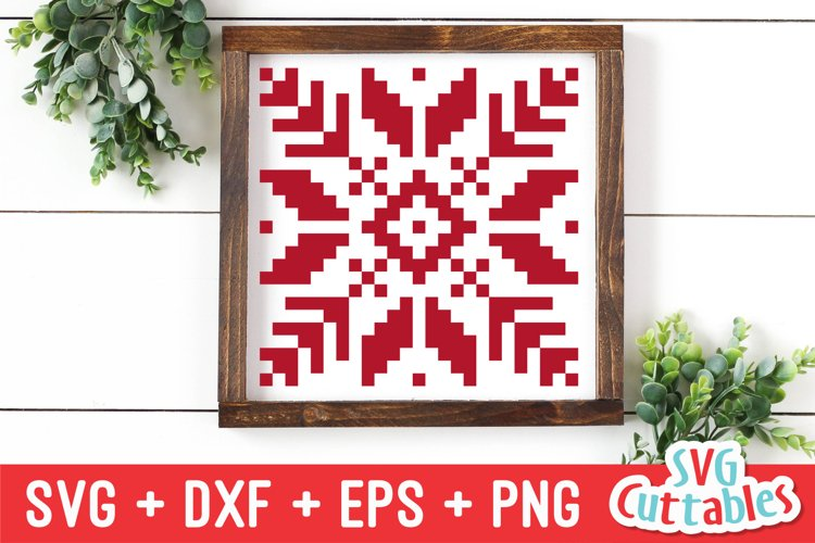 Christmas SVG | Snowflake | Sign example image 1
