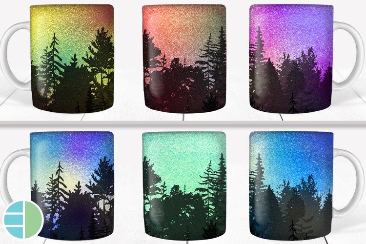 Tree Night Skyline Coffee Mug Best Seller Sublimation Bundle