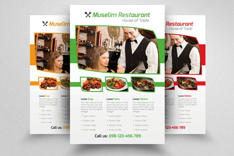 Restaurant Flyer Template example image 1