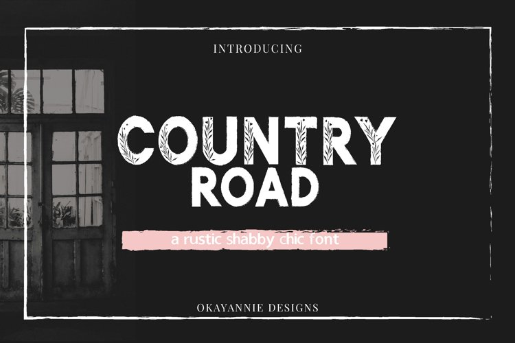 Country Road - Rustic Font example image 1