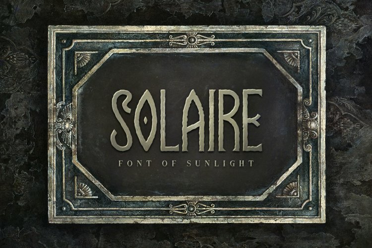 Solaire Typeface example image 1