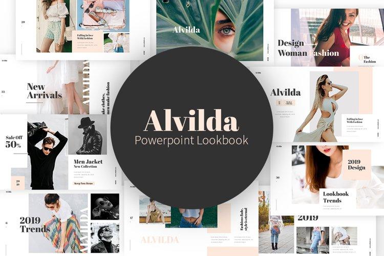 Alvilda Powerpoint Lookbook example image 1