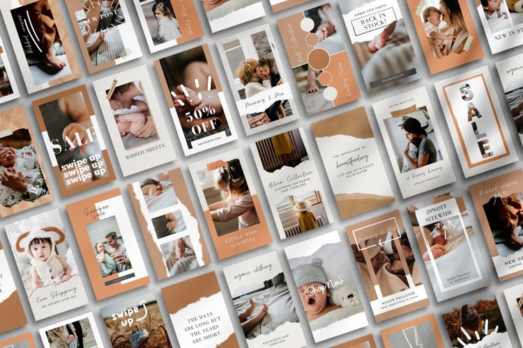 30 Canva Instagram Story Templates Plus 20 Highlight Icons