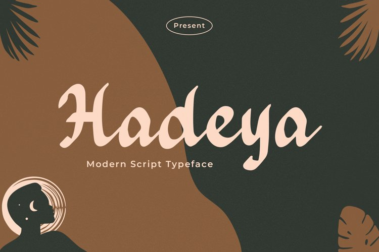 Hadeya - Modern Script Typeface example image 1
