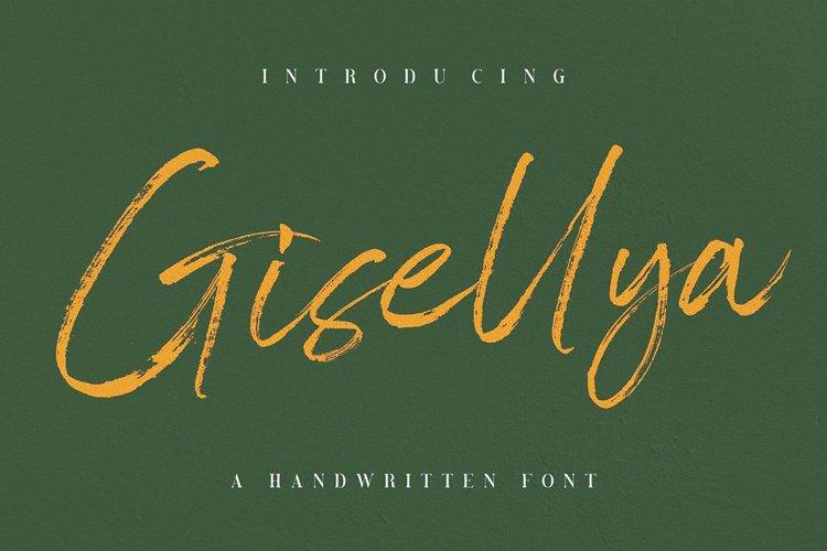 Gisellya Handwritten Font example image 1