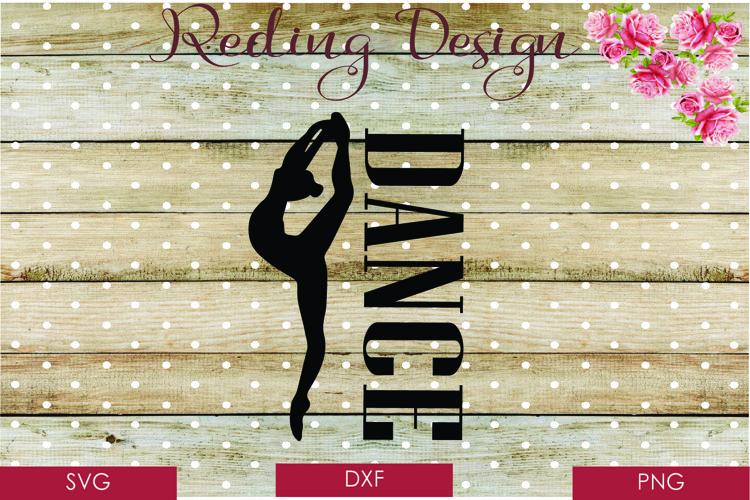 Dance SVG DXF PNG Digital Cut Files