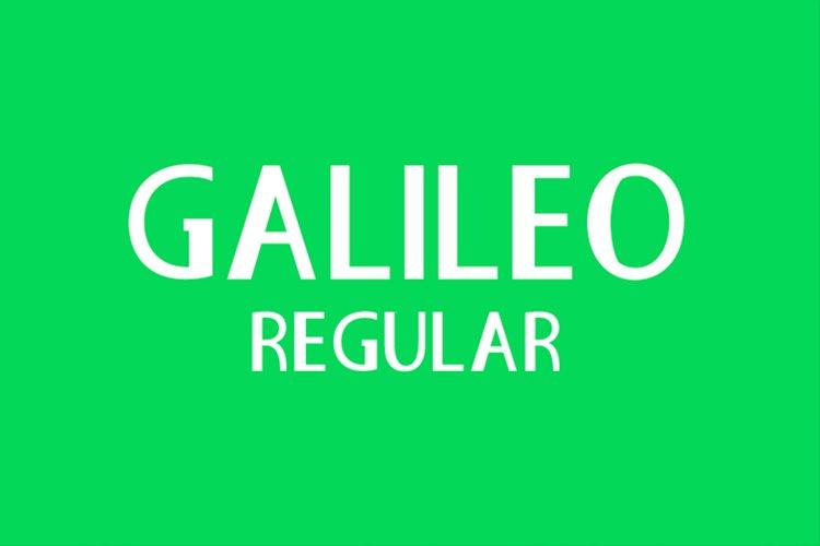 Galileo Regular example image 1