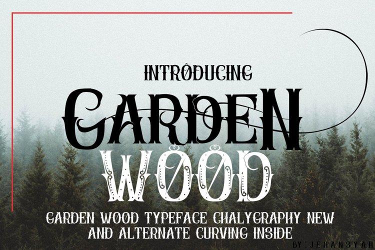 Garden Wood example image 1