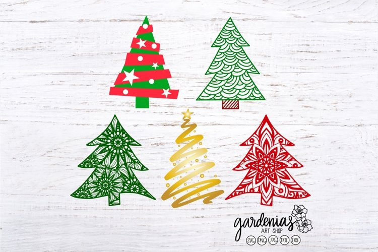 Christmas Tree SVG Bundle | Christmas Bundle | Clip Art PNG