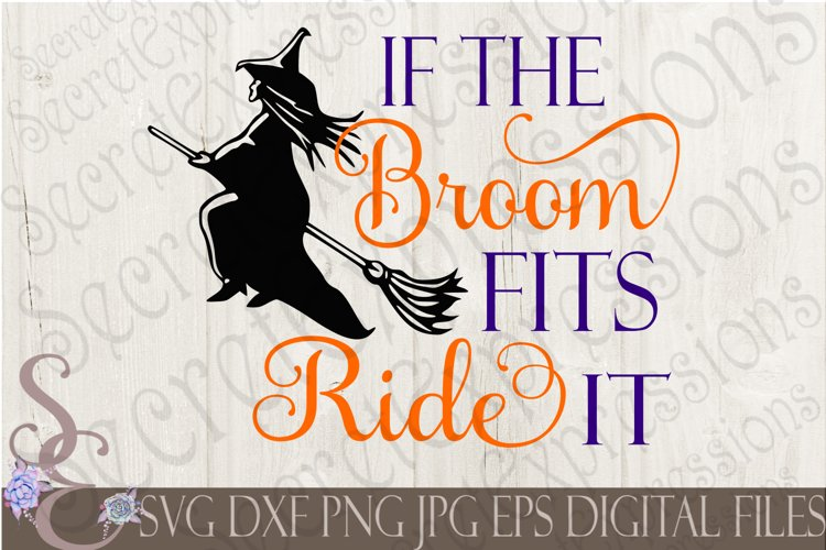 If The Broom Fits Ride It example image 1