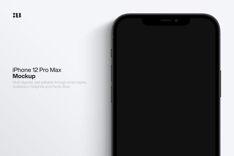 iPhone 12 Pro Max Mockup example image 1