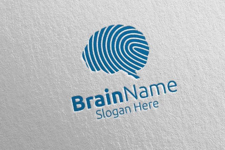 Brain Technology Logo Design 10 example image 1
