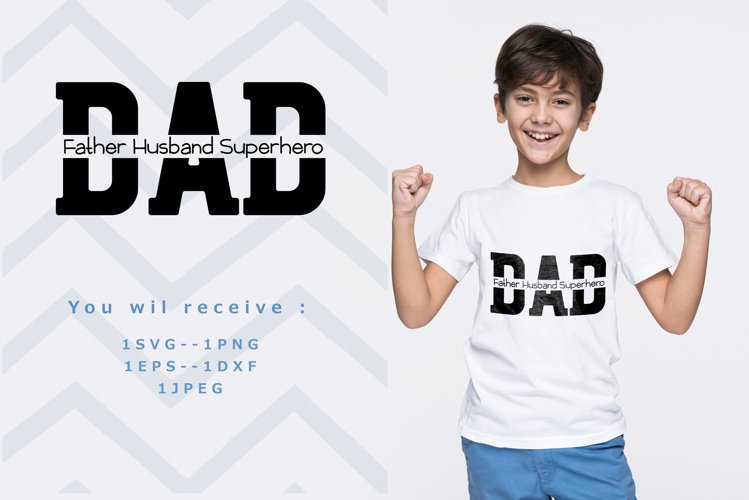 Dad Svg   Fathers Day Svg example image 1