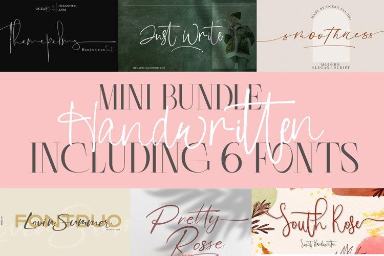 Mini Bundle Handwritten Font | Including 6 Fonts