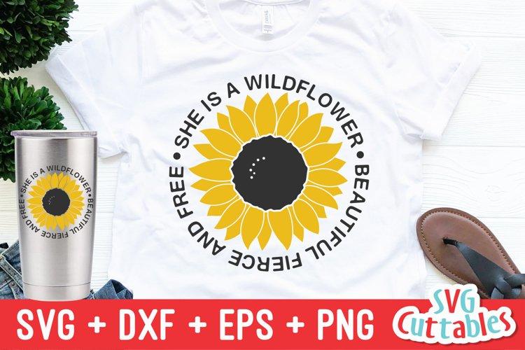 Sunflower SVG | Sunflower Quote | Summer | Shirt Design example image 1