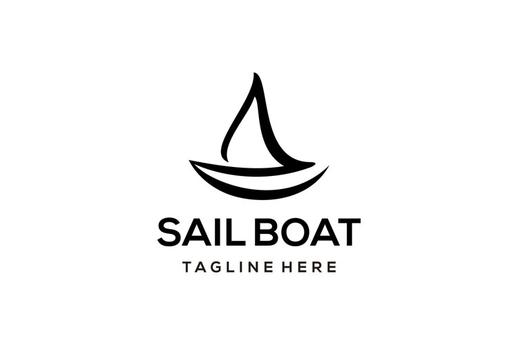 Sailboat logo example image 1