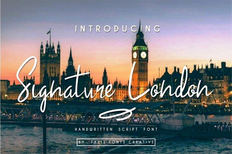 Signature London example image 1