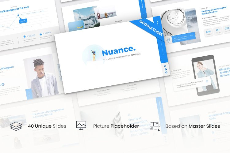 Nuance - Pitchdeck Presentation Template