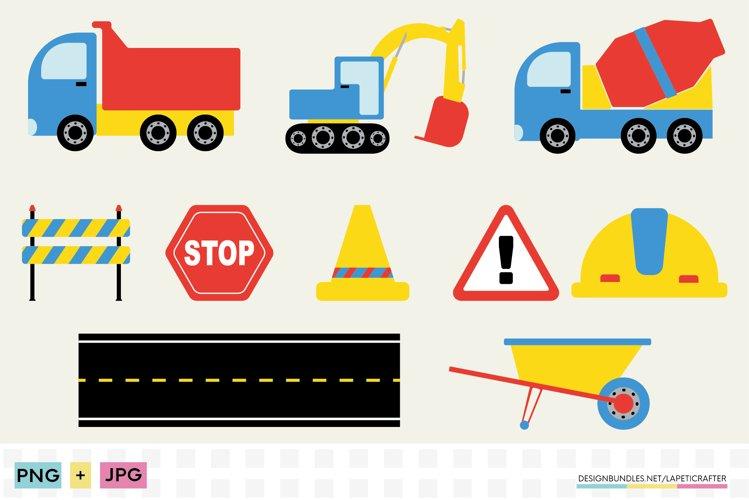 Construction clipart, png, jpg, sublimation designs for kids