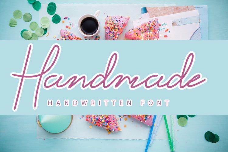 Handmade - Stylish Hand lettering font example image 1