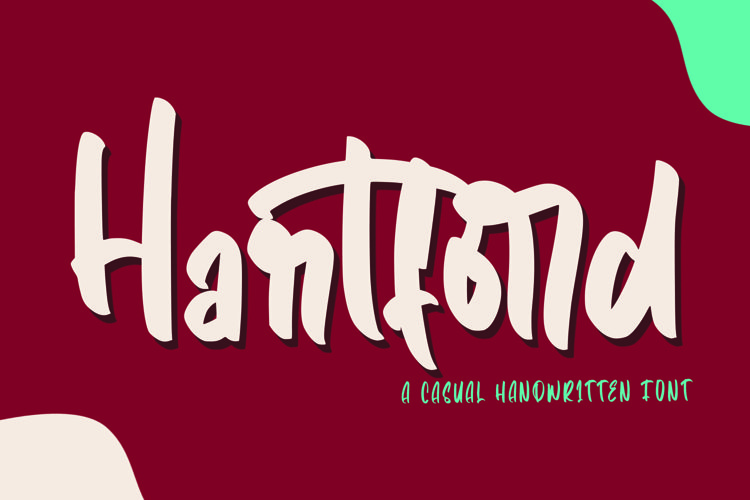 Web Font Hartford - Casual Hnadwritten Font example image 1