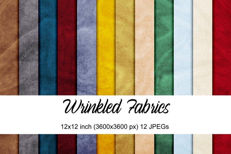 Wrinkled Fabrics digital papers example image 1