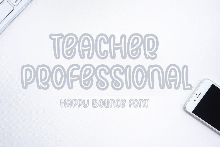 Teacher Professional example image 1