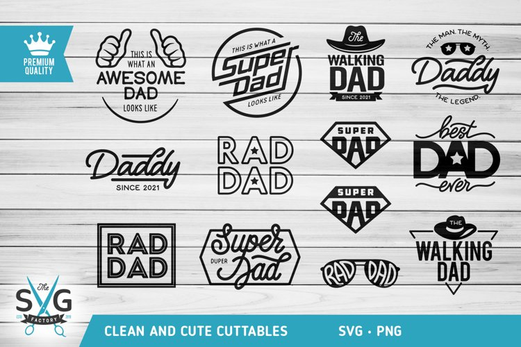 Fathers day SVG, Super Dad SVG, Daddy SVG, Dad life svg