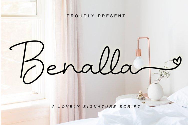 Benalla example image 1