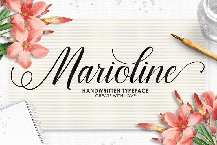 Marioline Script example image 1