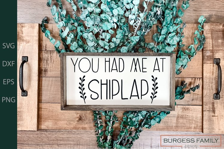 You had me at shiplap | Cuttable