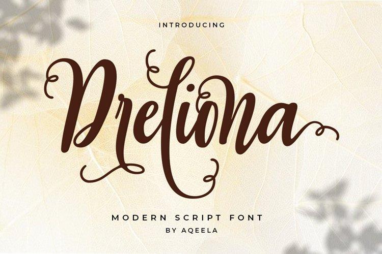 Dreliona example image 1