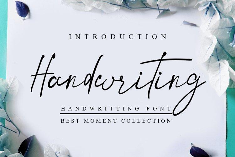 Handwriting example image 1