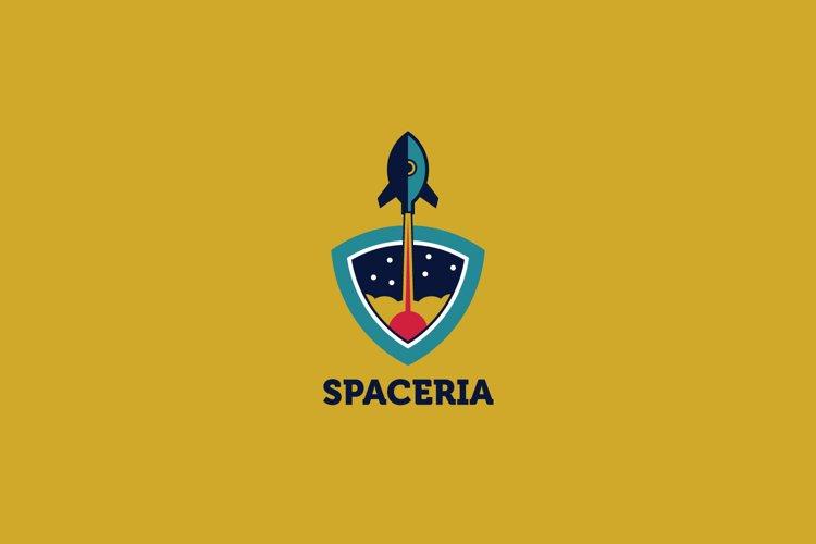 Spaceria Logo Template