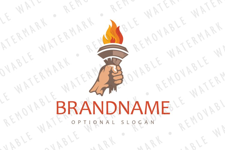 Flame of Inspiration Logo example image 1