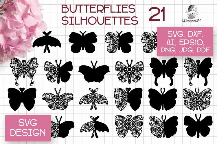 Butterfly SVG Bundle / Butterfly SVG Papercut Cutting File