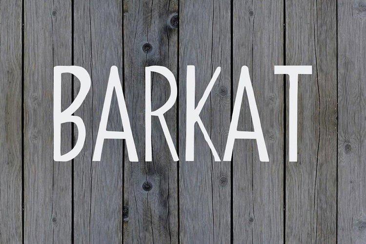 Barkat Calligraphy Font example image 1
