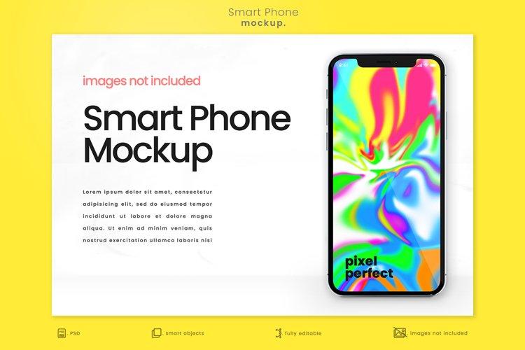 Bright Modern Apple iPhone Mockup 1