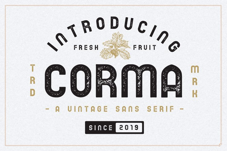 The Corma - 4 Font Files example image 1