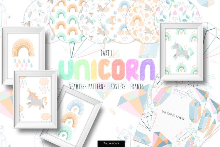 Unicorn. Part2. Childrens collection.