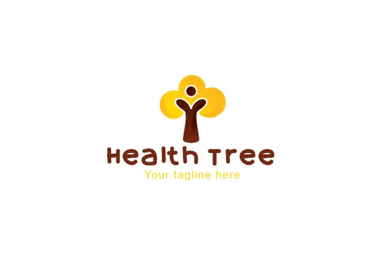 Health Tree - Abstract Figurative Nature Object example image 1