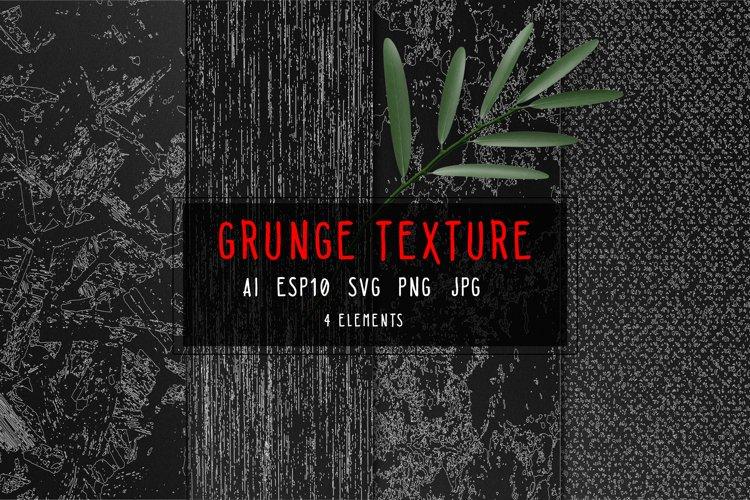 Grunge texture bundle Textures SVG example image 1