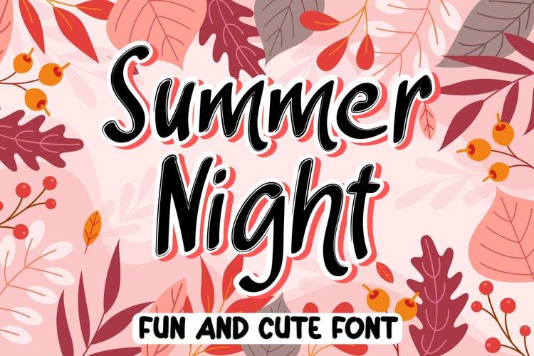 Summer Night example image 1