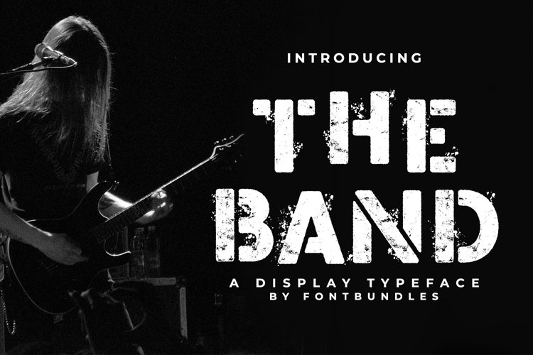 Web Font The Band example image 1