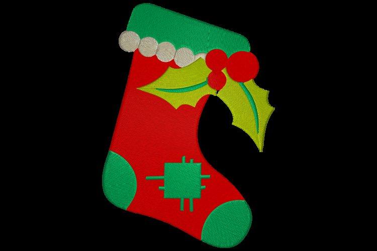 christmas sock example image 1