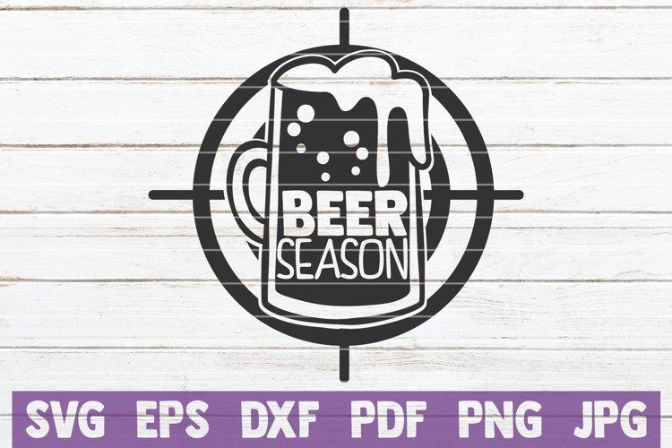 Beer Season SVG Cut File example image 1