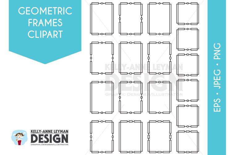 Download Geometric Digital Frames Clipart Digital Labels Clip Art 386216 Decorations Design Bundles