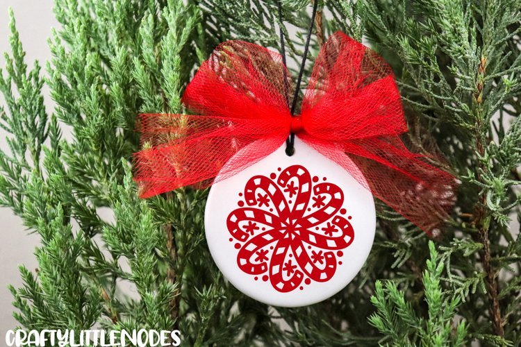 Mini Christmas Bundle - Hand lettered SVG Cut Files example 4